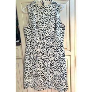 Anne Taylor LOFT Dalmatian Dress